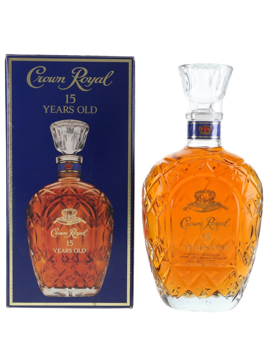 Crown Royal 15 Year Old Bottled 1980s 75cl / 40%