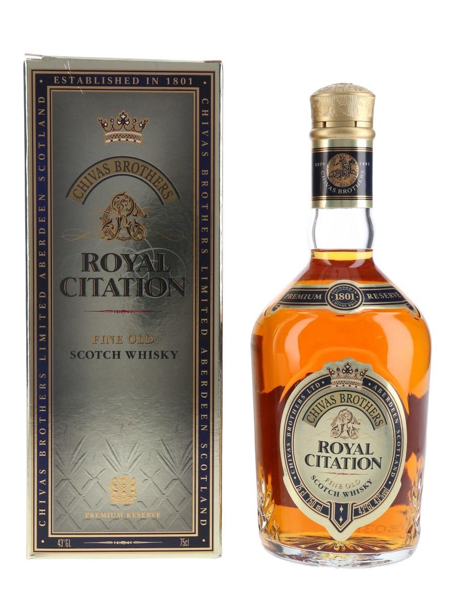 Chivas Brothers Royal Citation Bottled 1980s 75cl / 43%