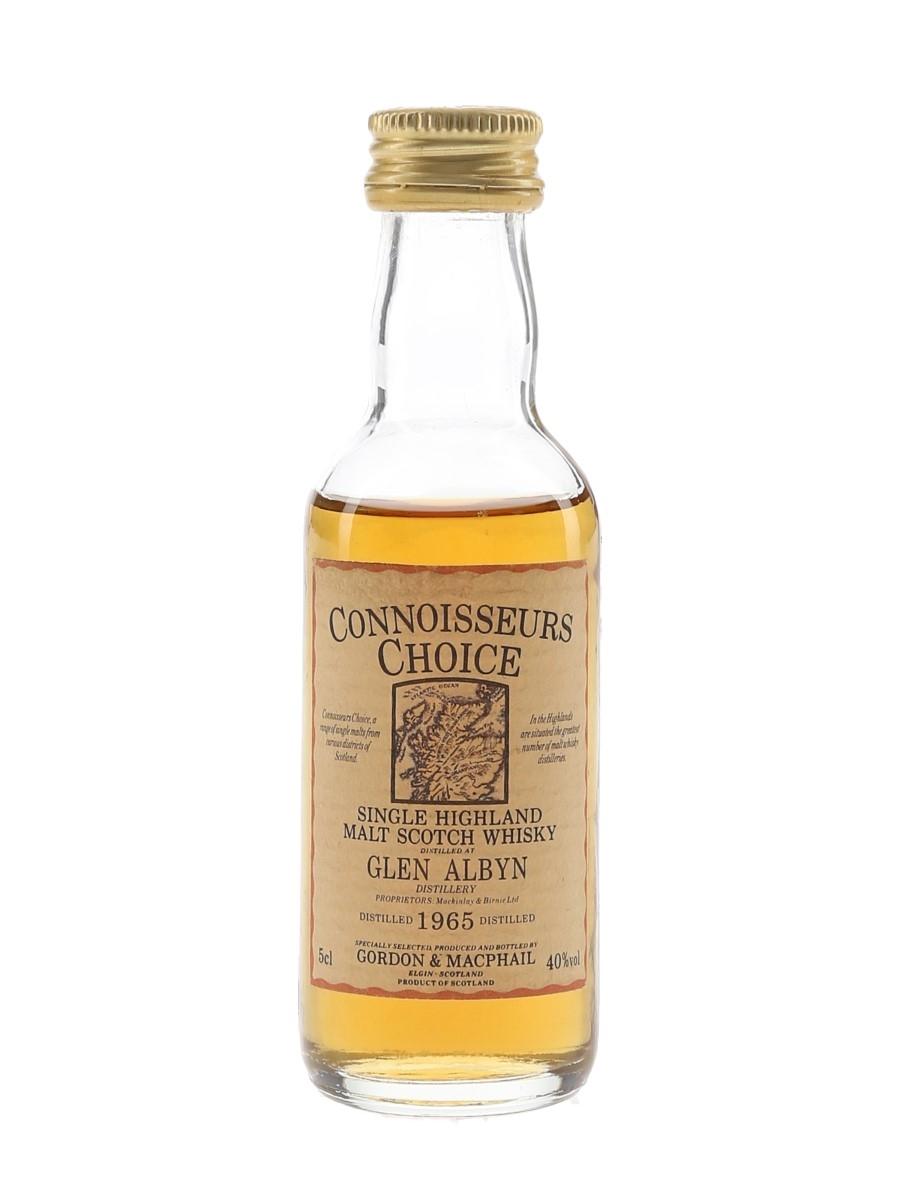 Glen Albyn 1965 Connoisseurs Choice Bottled 1980s - Gordon & MacPhail 5cl / 40%
