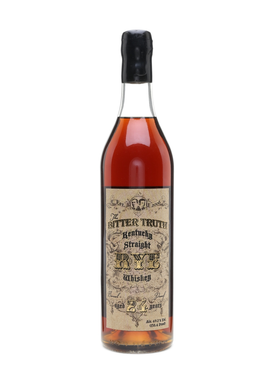 Bitter Truth 24 Year Old Single Barrel Willett Distillery 70cl / 69.2%