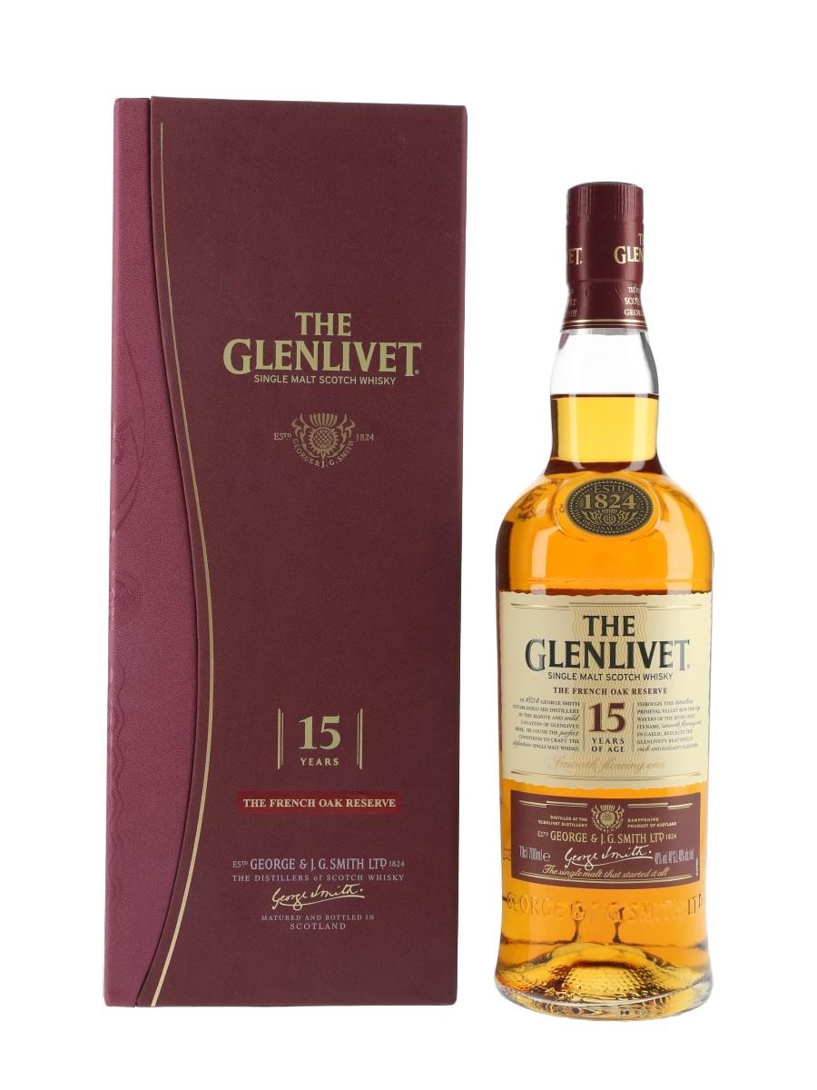 Glenlivet 15 Year Old French Oak Reserve Bottled 2013 70cl / 40%