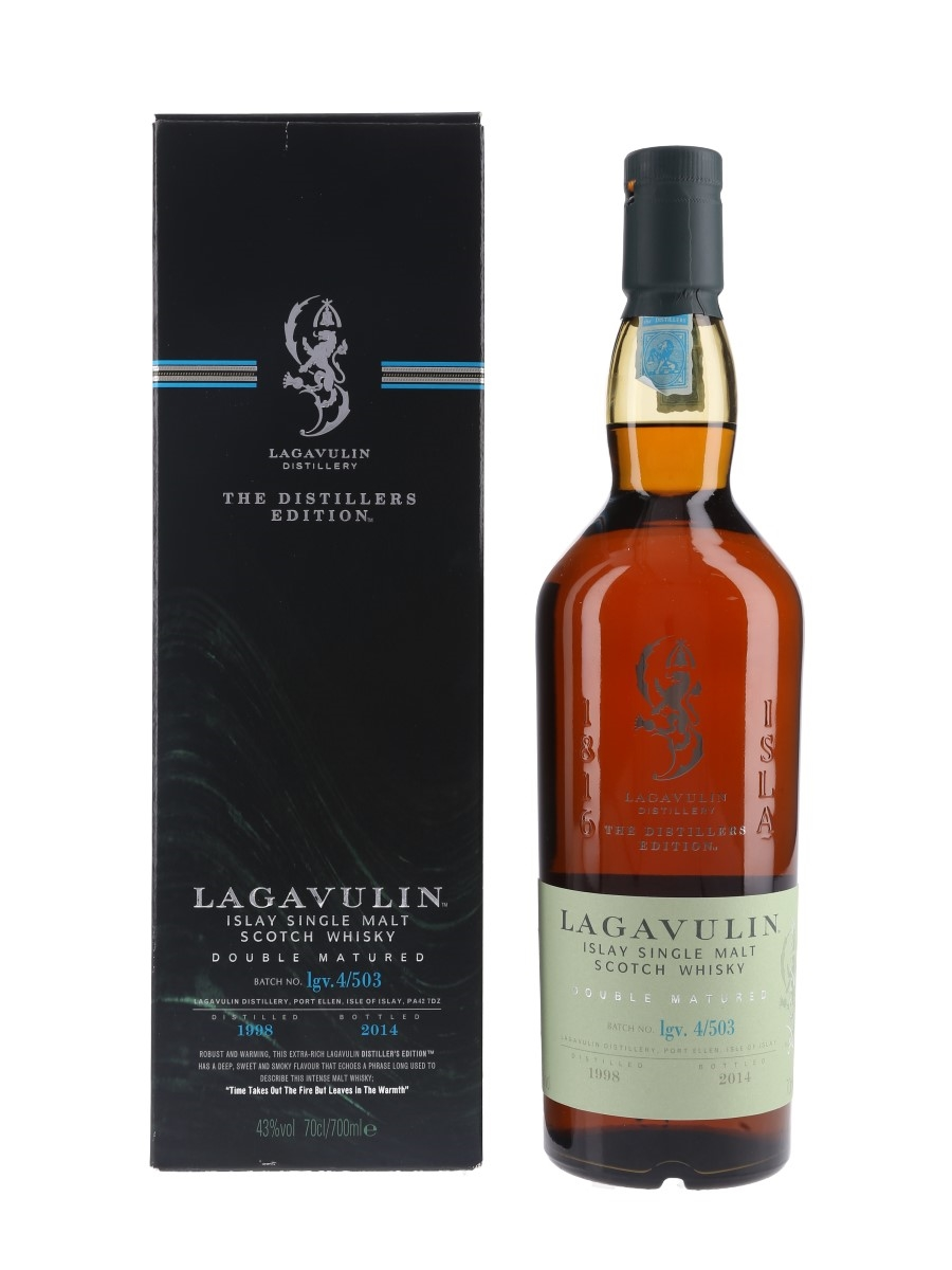 Lagavulin 1998 Distillers Edition Bottled 2014 70cl / 43%