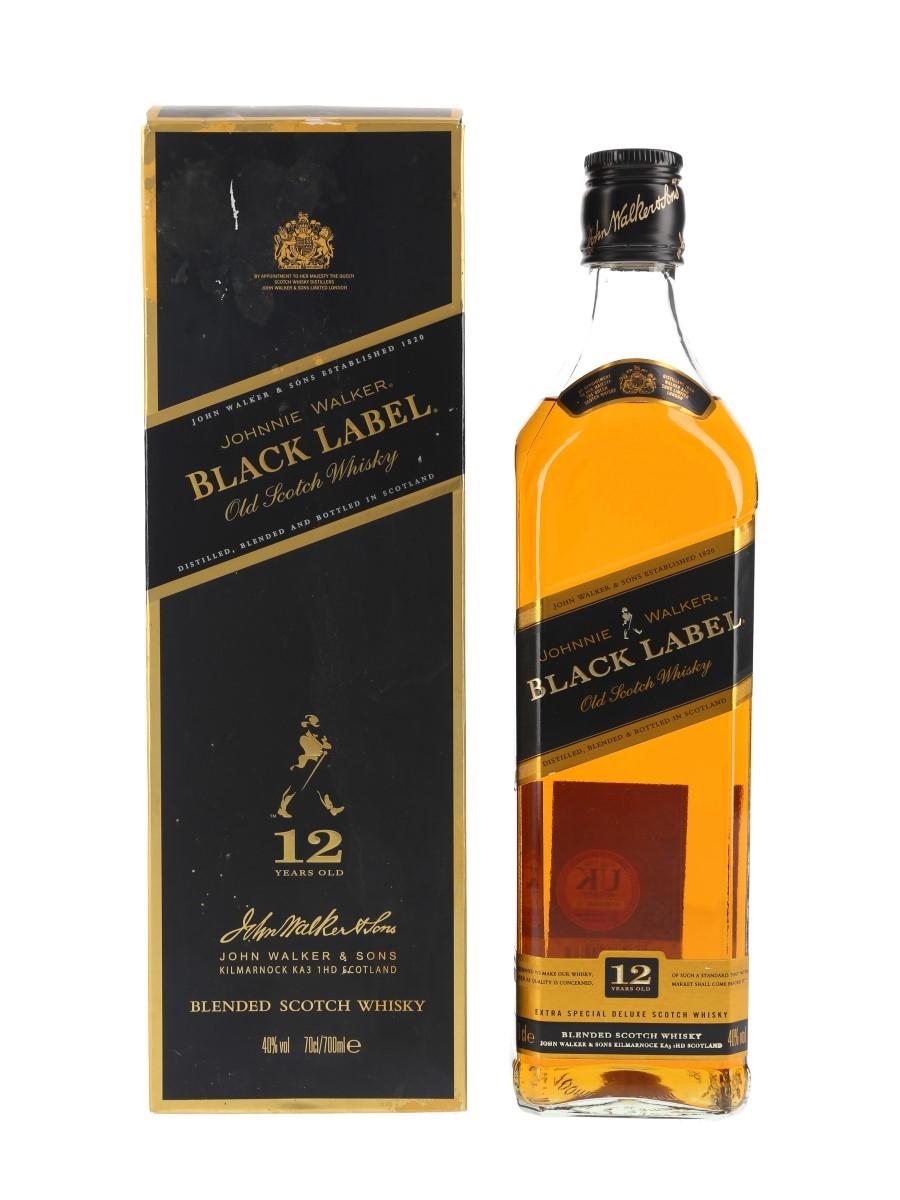 Johnnie Walker Black Label 12 Year Old  70cl / 40%