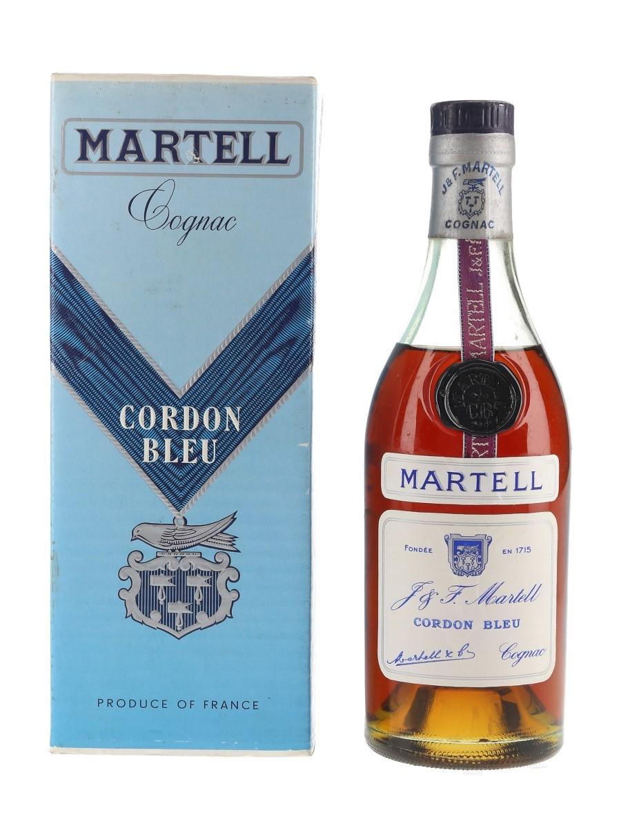 Martell Cordon Bleu Bottled 1960s 35cl