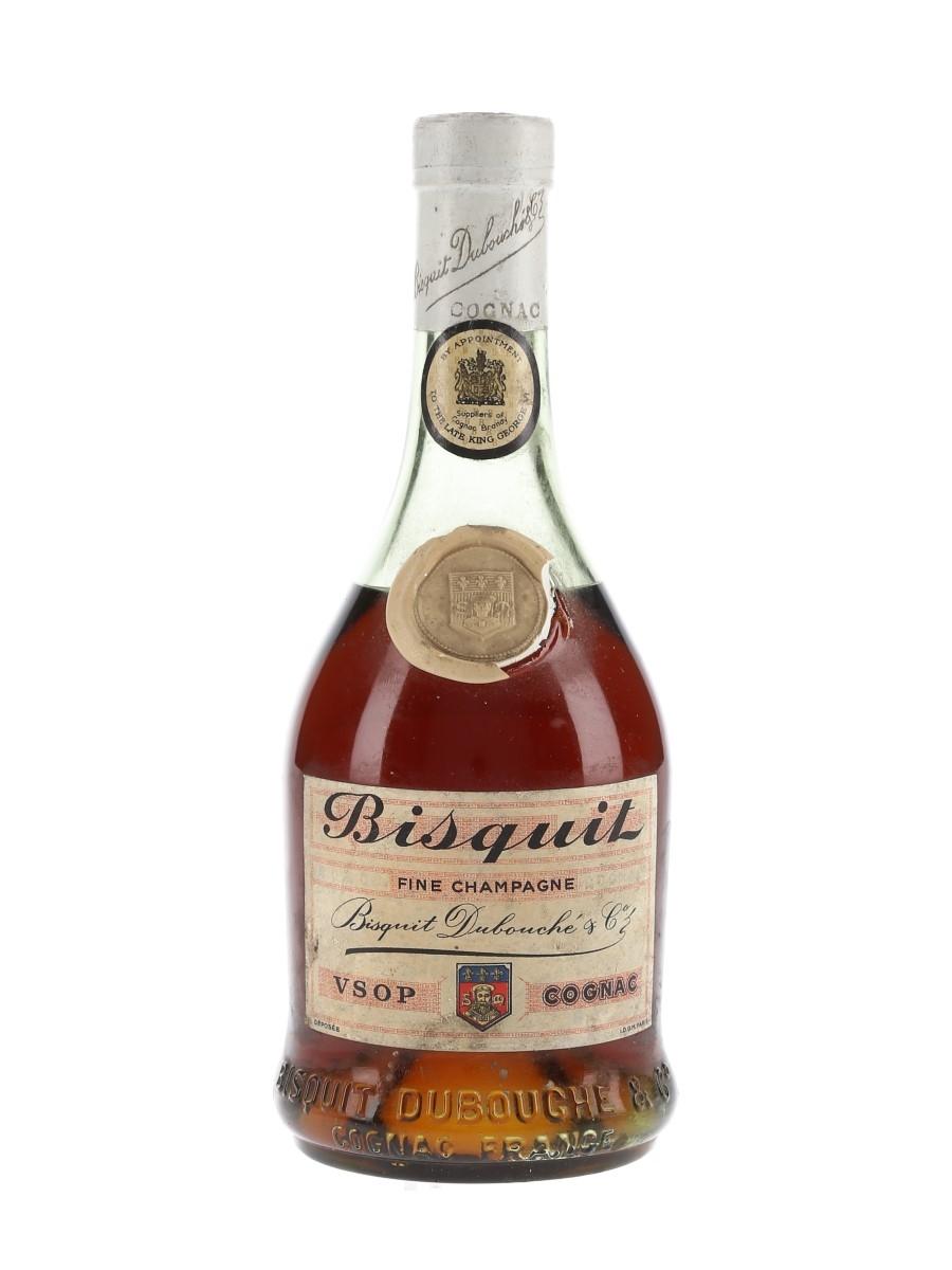 Bisquit Dubouche VSOP Fine Champagne Bottled 1950s 35cl