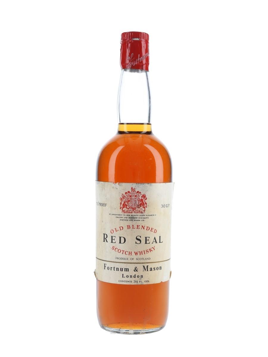 Fortnum & Mason Red Seal Bottled 1960s 75.7cl / 40%