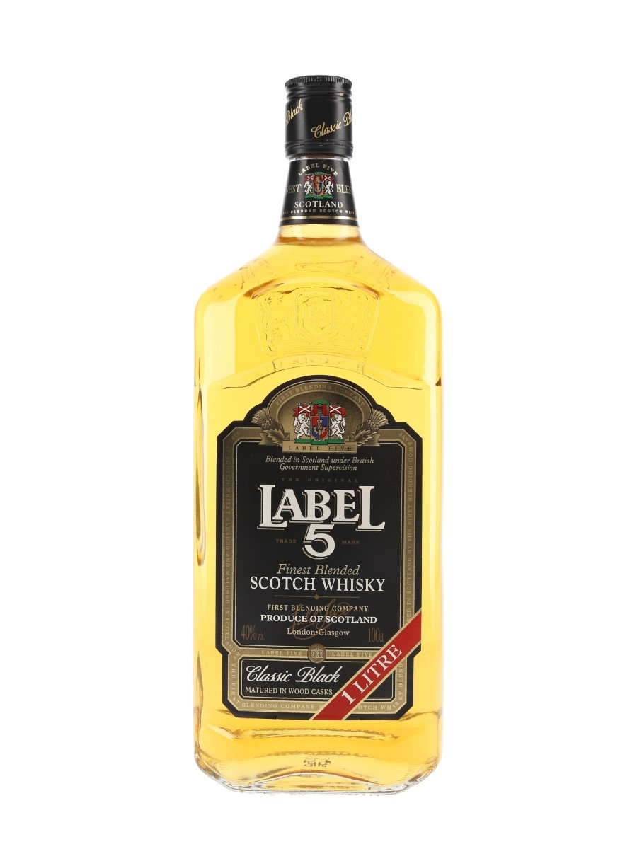 Label 5 Classic Black  100cl / 40%