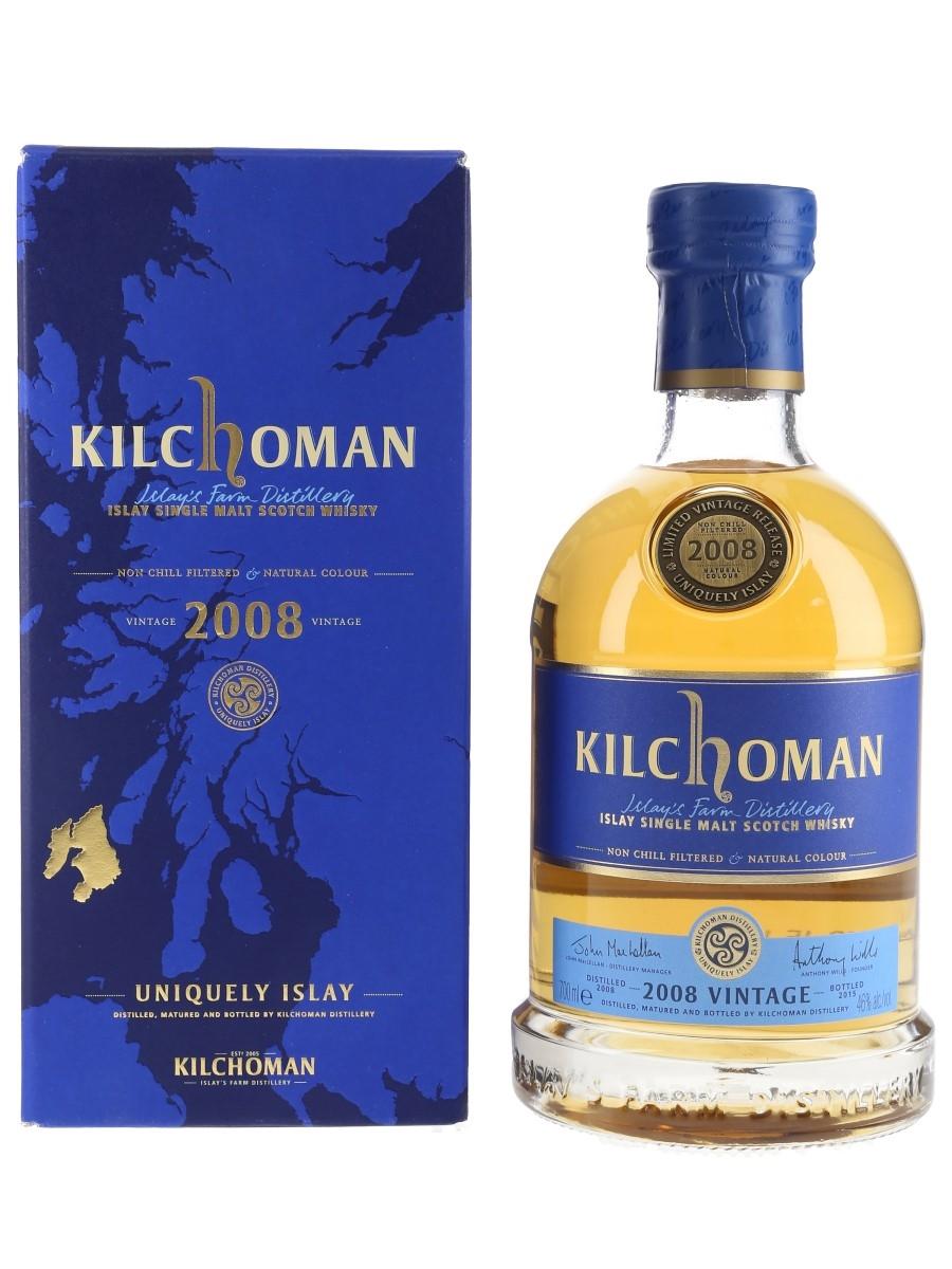 Kilchoman 2008 Bottled 2015 70cl / 46%
