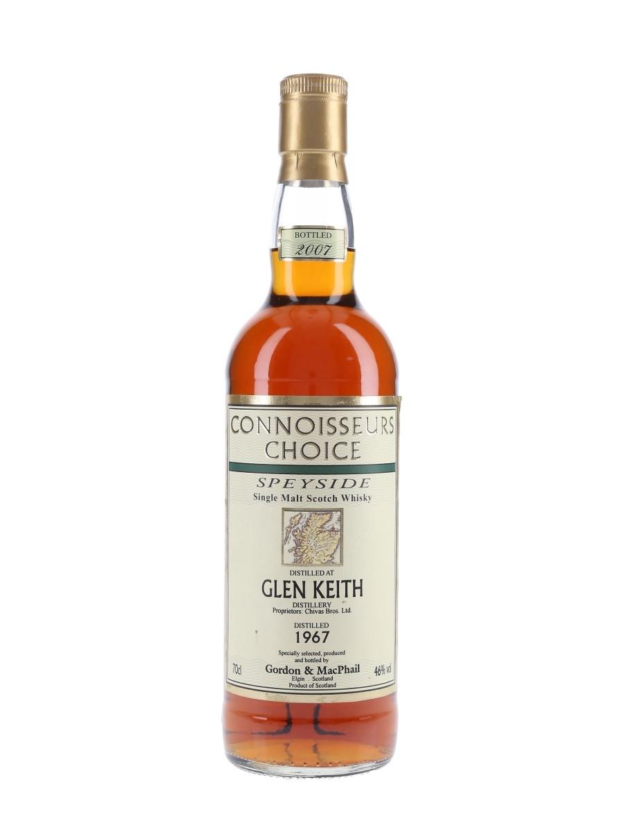 Glen Keith 1967 Bottled 2007 - Connoisseurs Choice 70cl / 46%