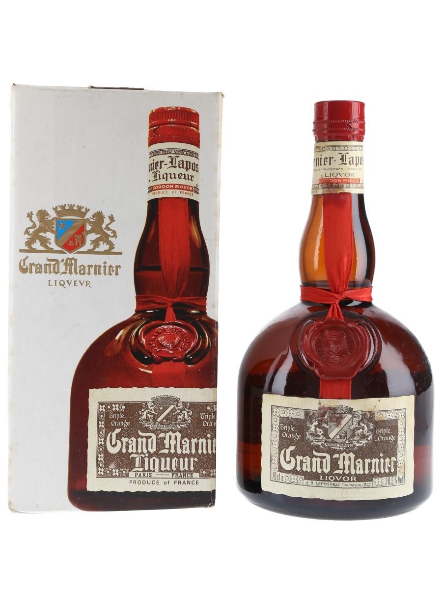 Grand Marnier Cordon Rouge Bottled 1980s 70cl / 38.5%
