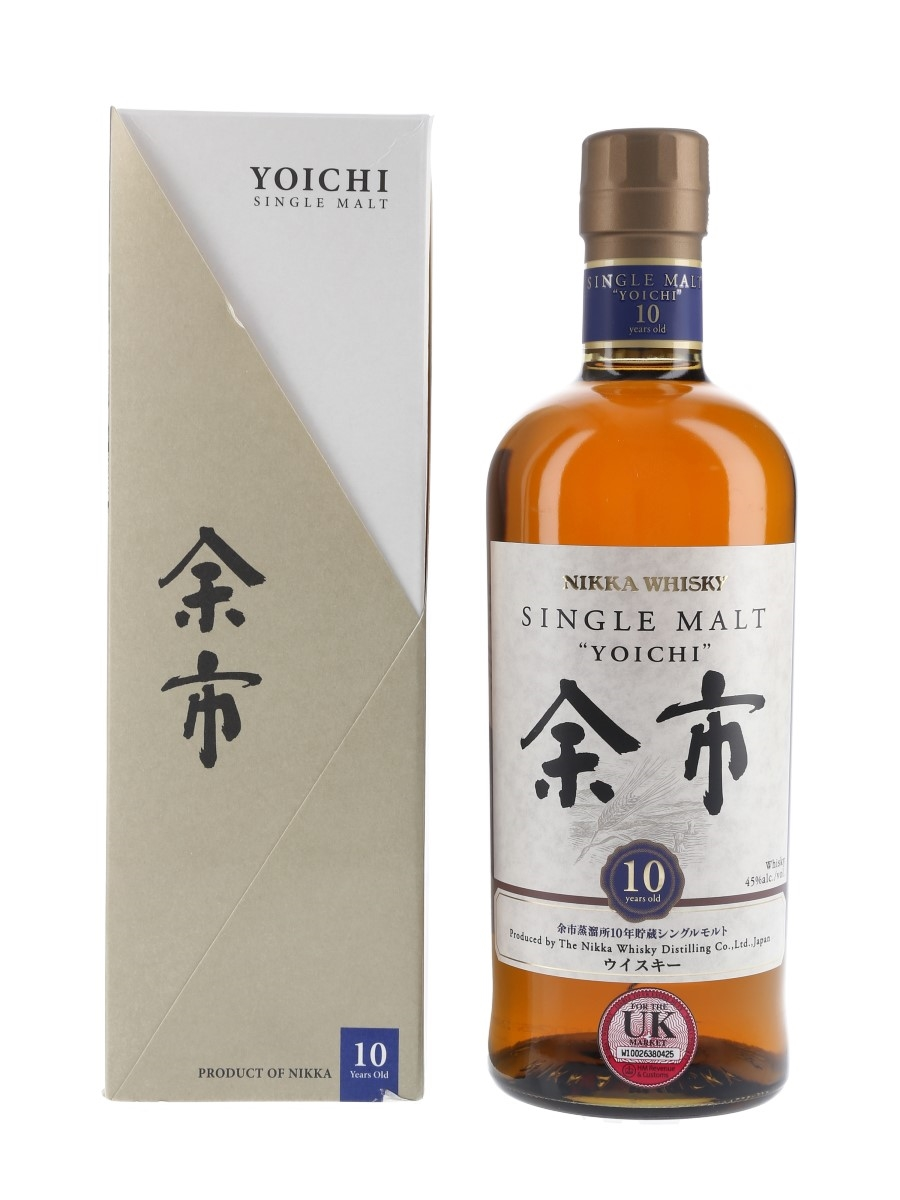Nikka Yoichi 10 Year Old  70cl / 45%