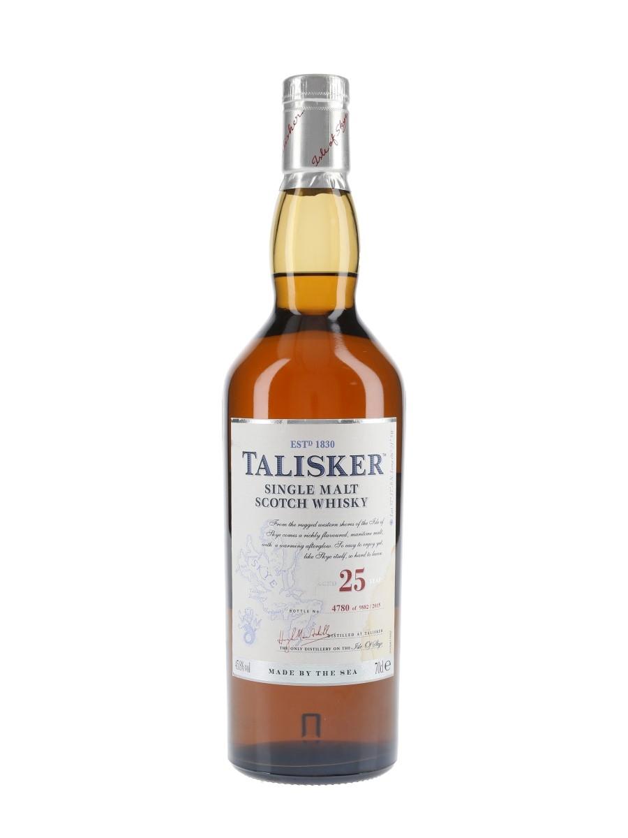 Talisker 25 Year Old Bottled 2015 70cl / 45.8%