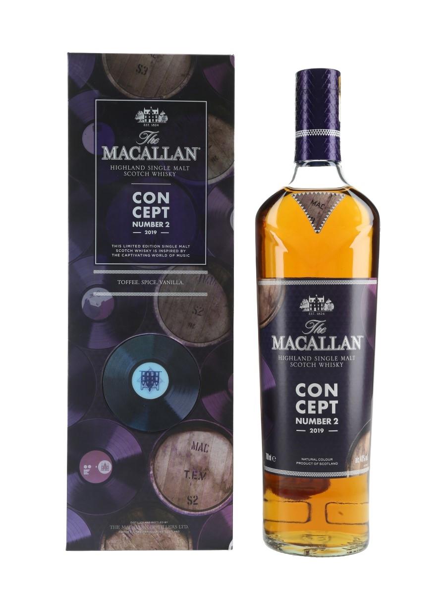 Macallan Concept Number 2 2019 Release 70cl / 40%