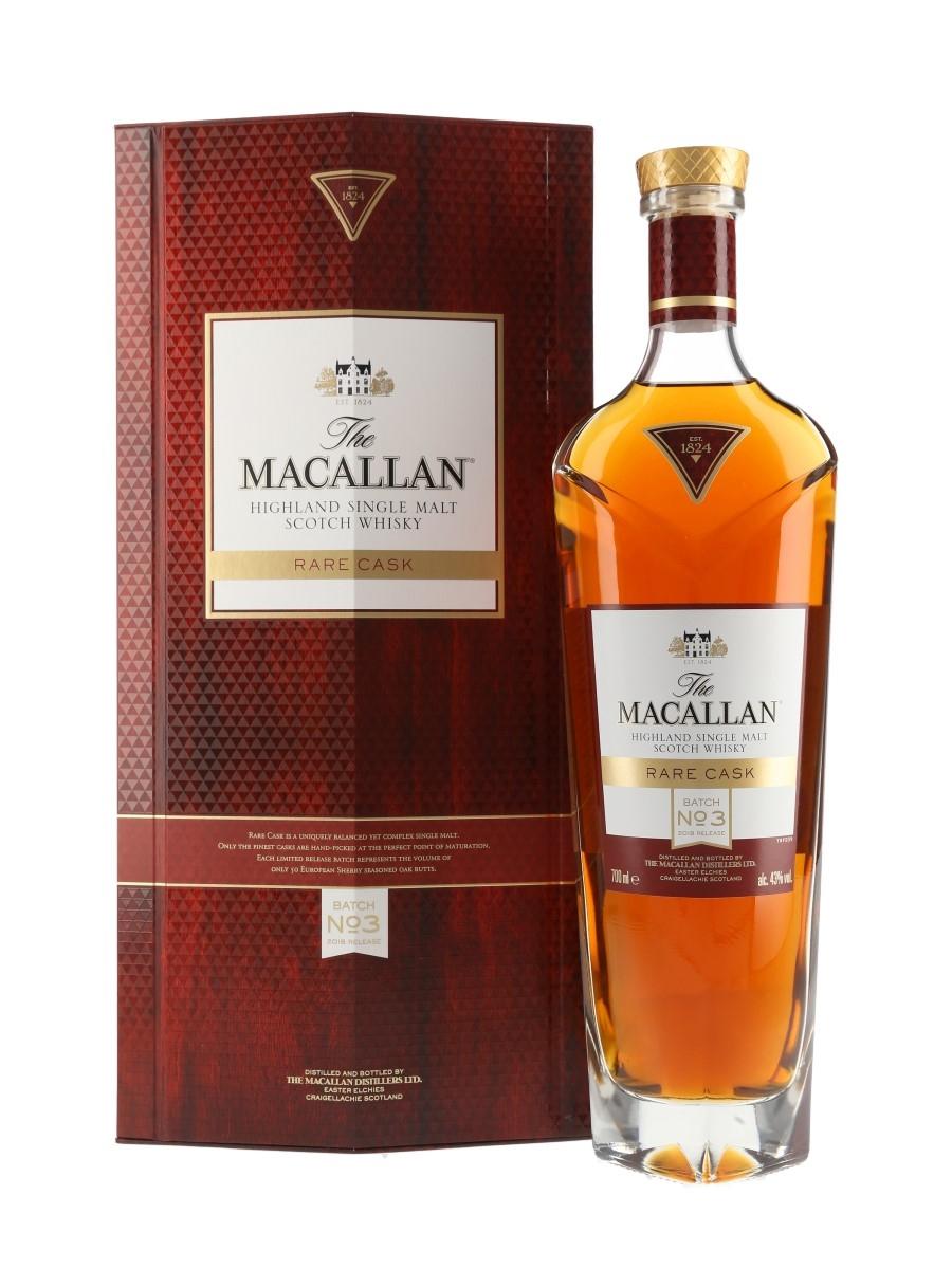 Macallan Rare Cask Batch No.3 2018 Release 70cl / 43%