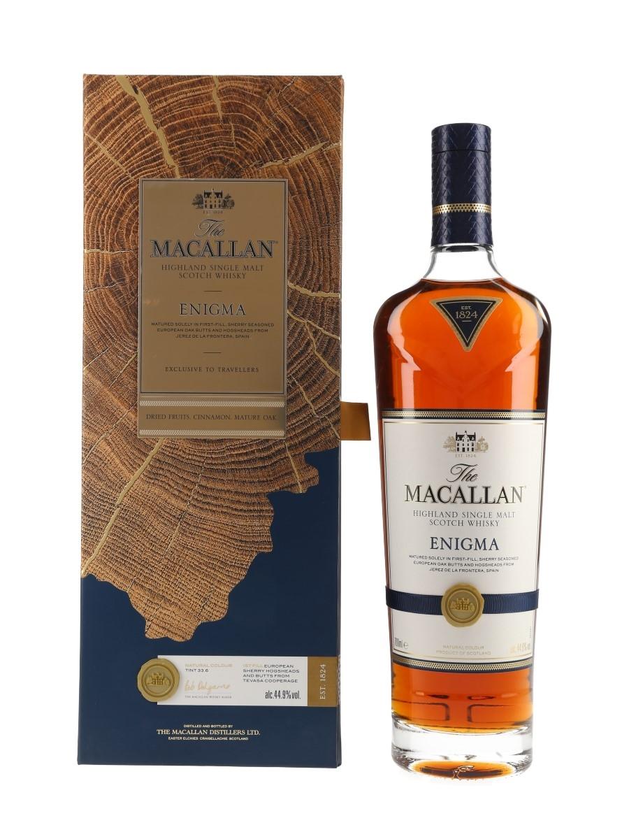 Macallan Enigma Travellers Exclusive 70cl / 44.9%