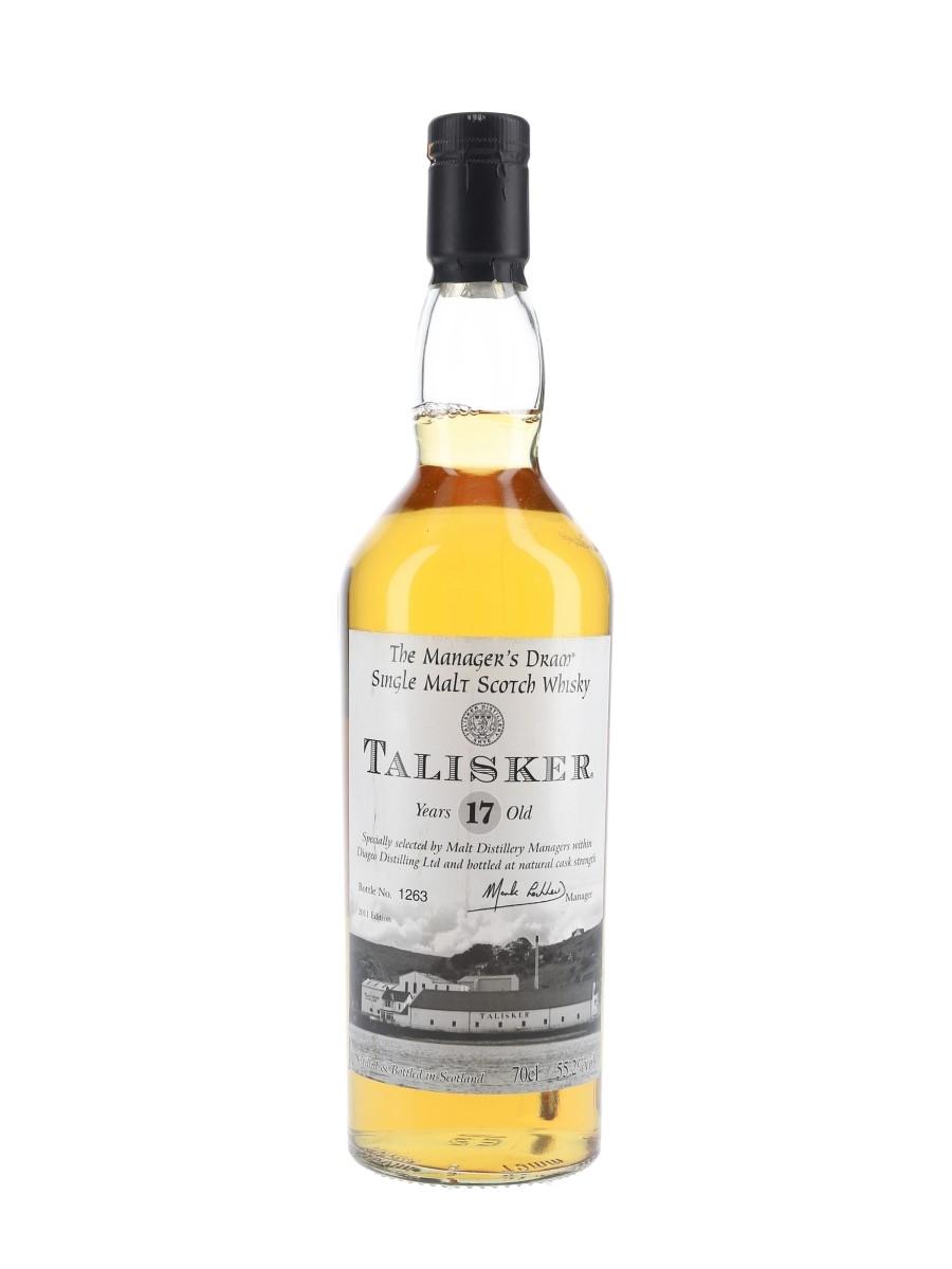 Talisker 17 Year Old The Manager's Dram Bottled 2011 70cl / 55.2%