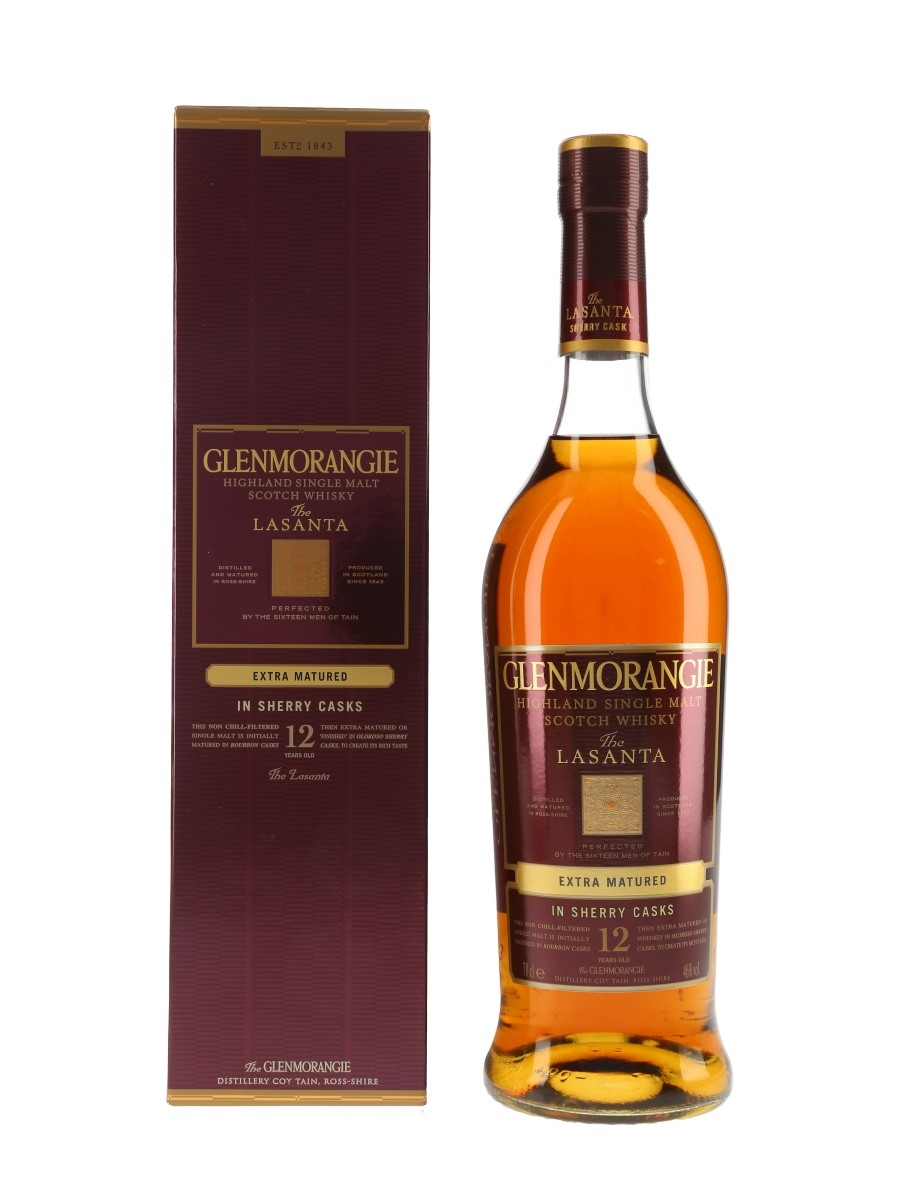 Glenmorangie Lasanta 12 Year Old Sherry Cask Finish 70cl / 46%