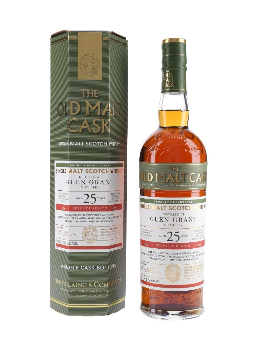Glen Grant 1991 25 Year Old The Old Malt Cask Bottled 2016 - Hunter Laing 70cl / 50%
