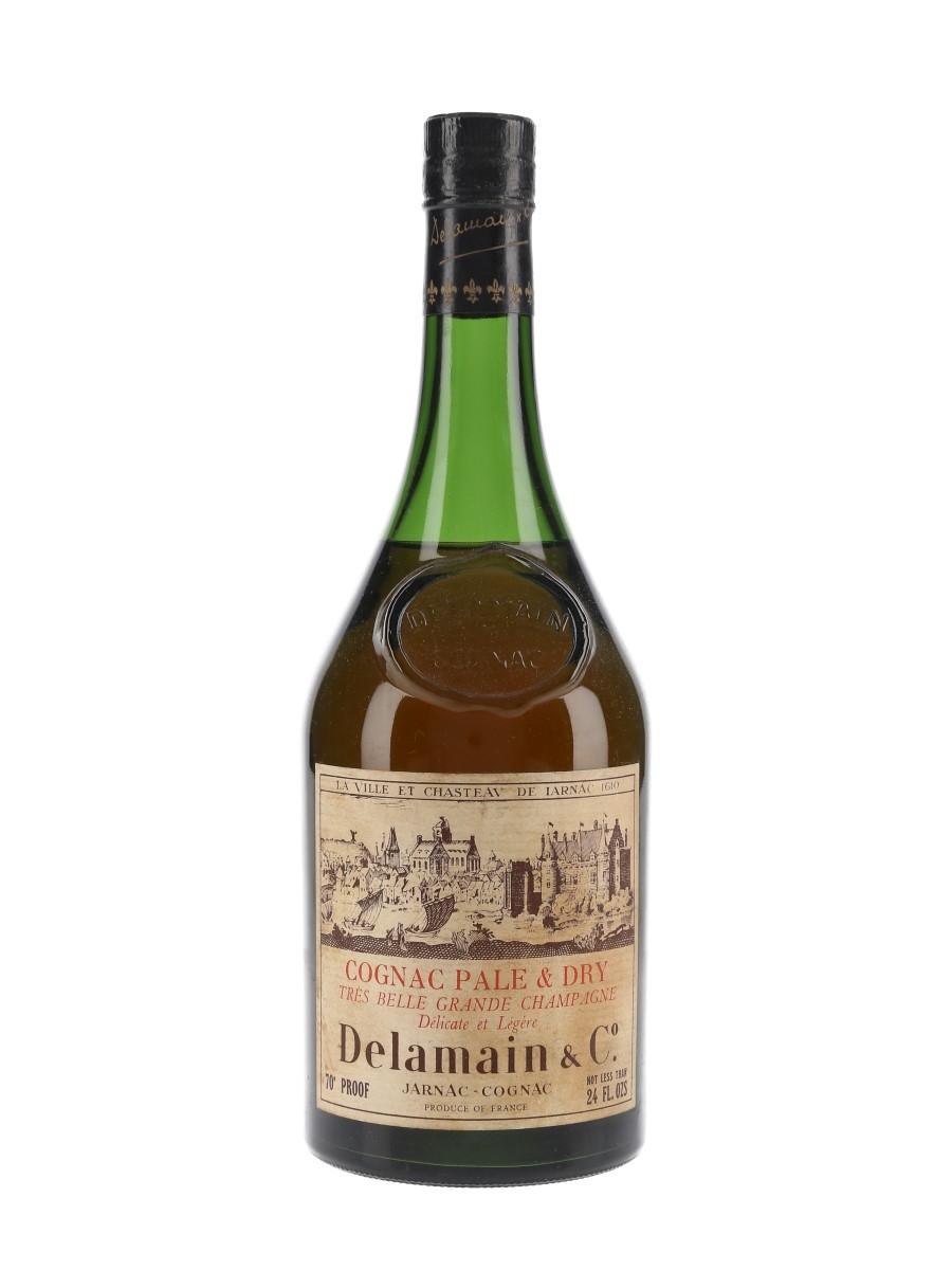 Delamain Pale & Dry Bottled 1970s 68cl / 40%