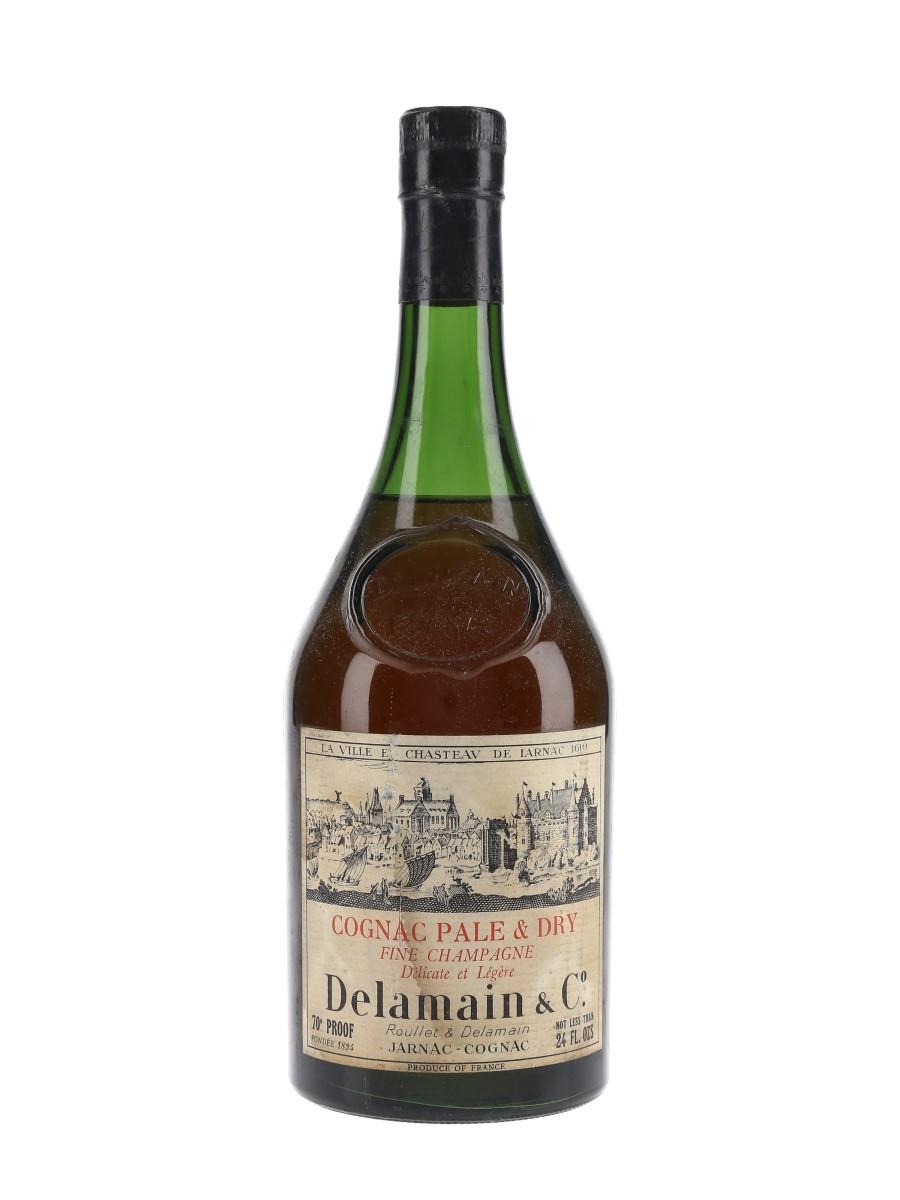 Delamain Pale & Dry Cognac Bottled 1960s - Roullet & Delamain 68cl / 40%