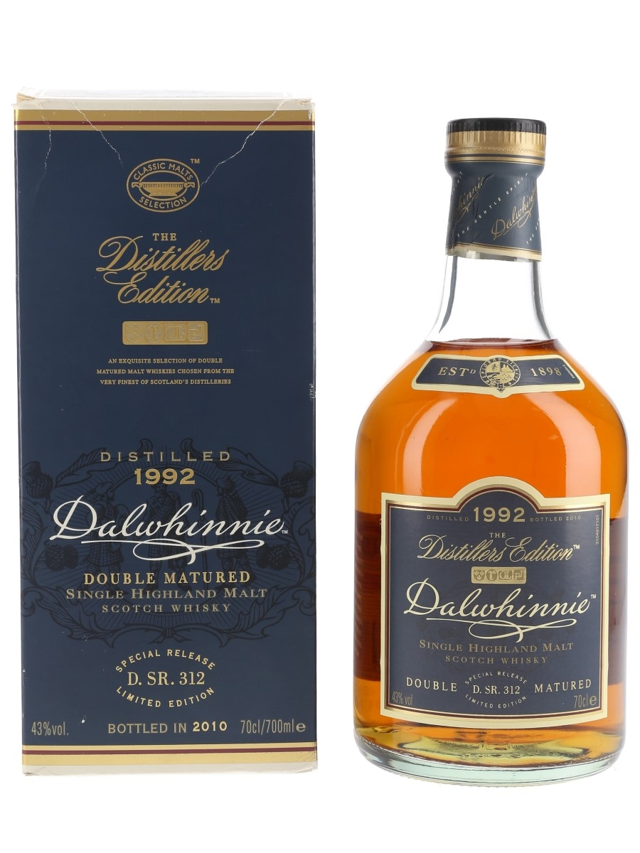 Dalwhinnie 1992 Distillers Edition Bottled 2010 70cl / 43%
