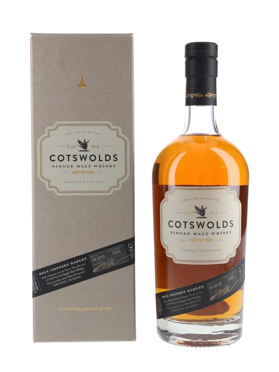 Cotswolds Odyssey Barley 2014 Batch 04-2018 70cl / 46%