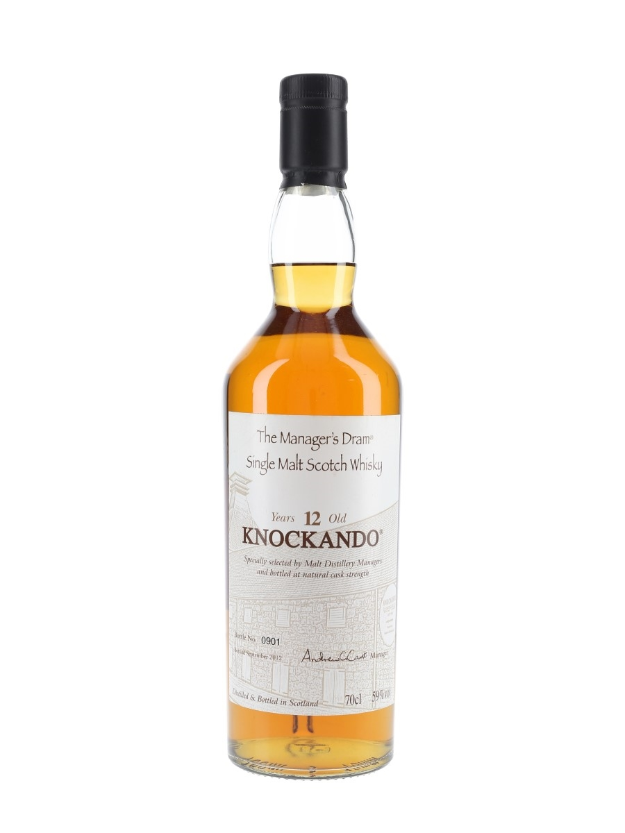Knockando 12 Year Old Bottled 2012 - The Manager's Dram 70cl / 59%