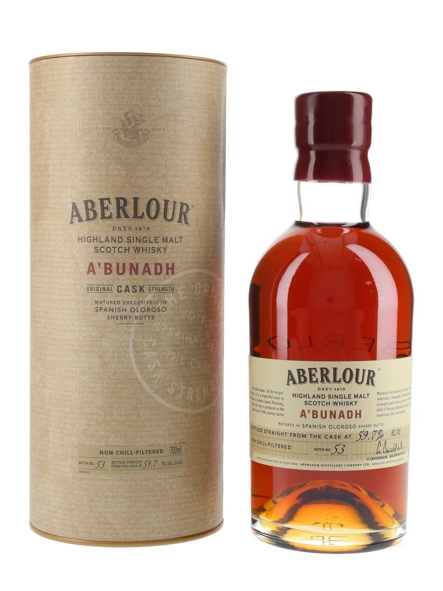 Aberlour A'bunadh Batch 53  70cl / 59.7%