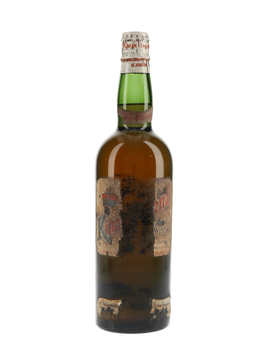 Ainslie's King's Legend Spring Cap Bottled 1950s-1960s 75cl