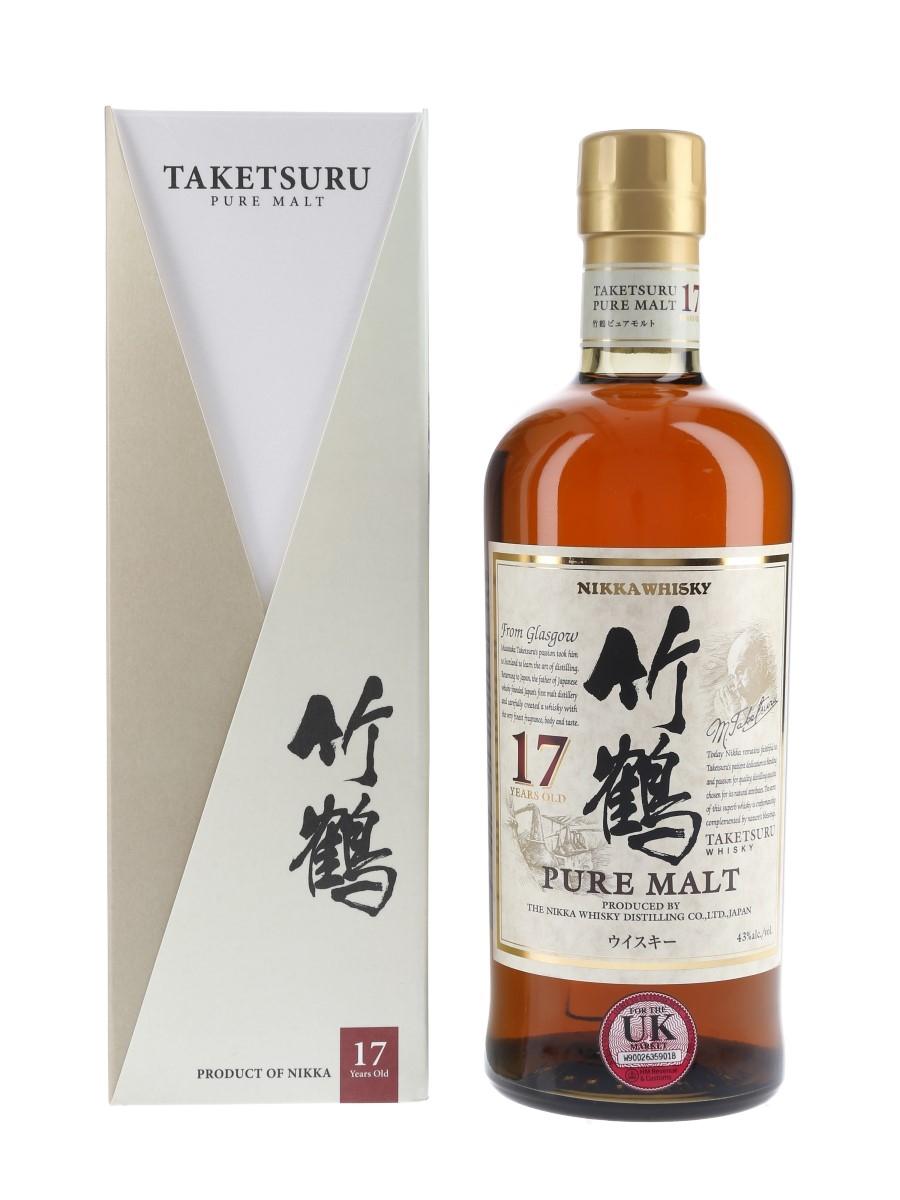 Taketsuru Pure Malt 17 Year Old Nikka Whisky Distilling 70cl / 43%