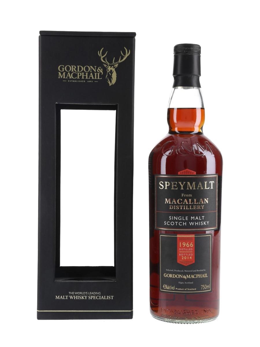 Macallan 1966 Speymalt Bottled 2014 - Classic Imports, USA 75cl / 43%
