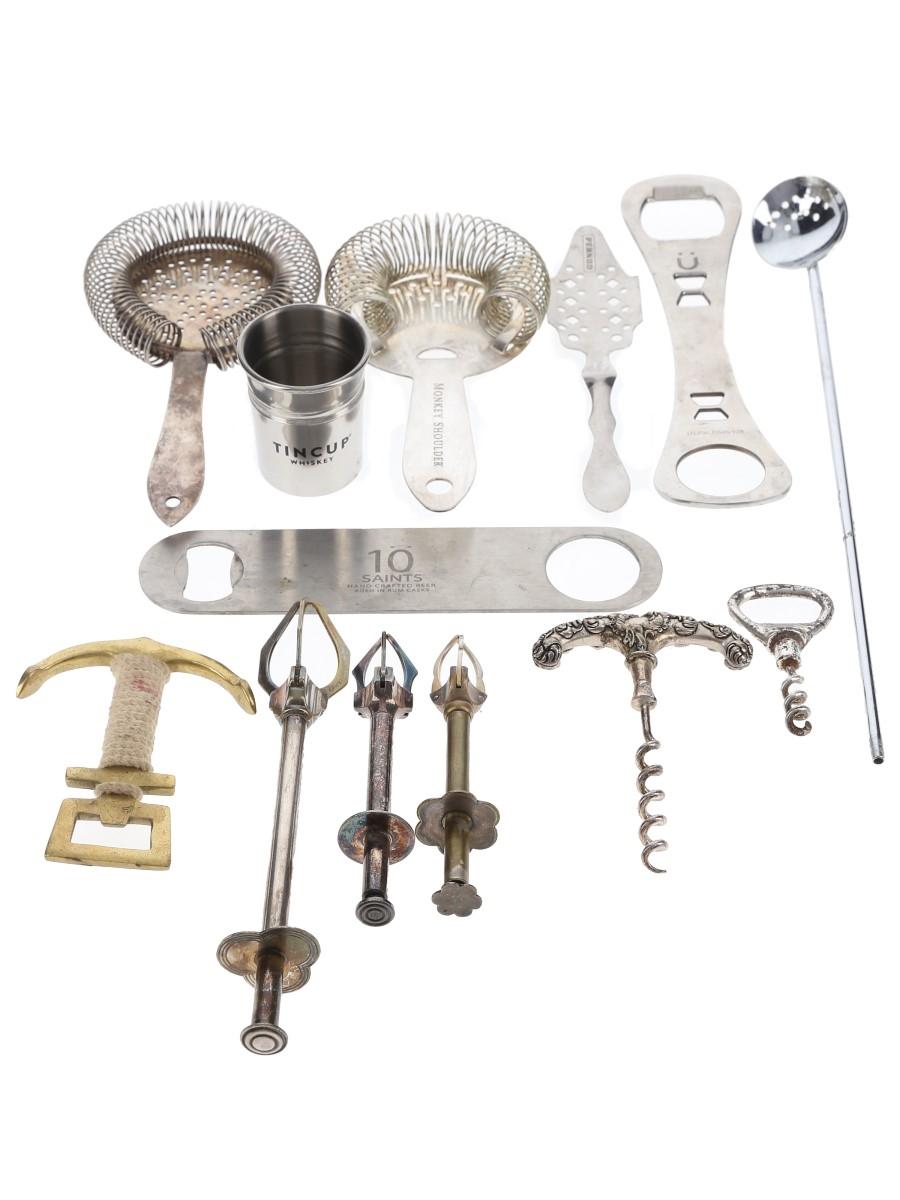 Assorted Bar Equipment