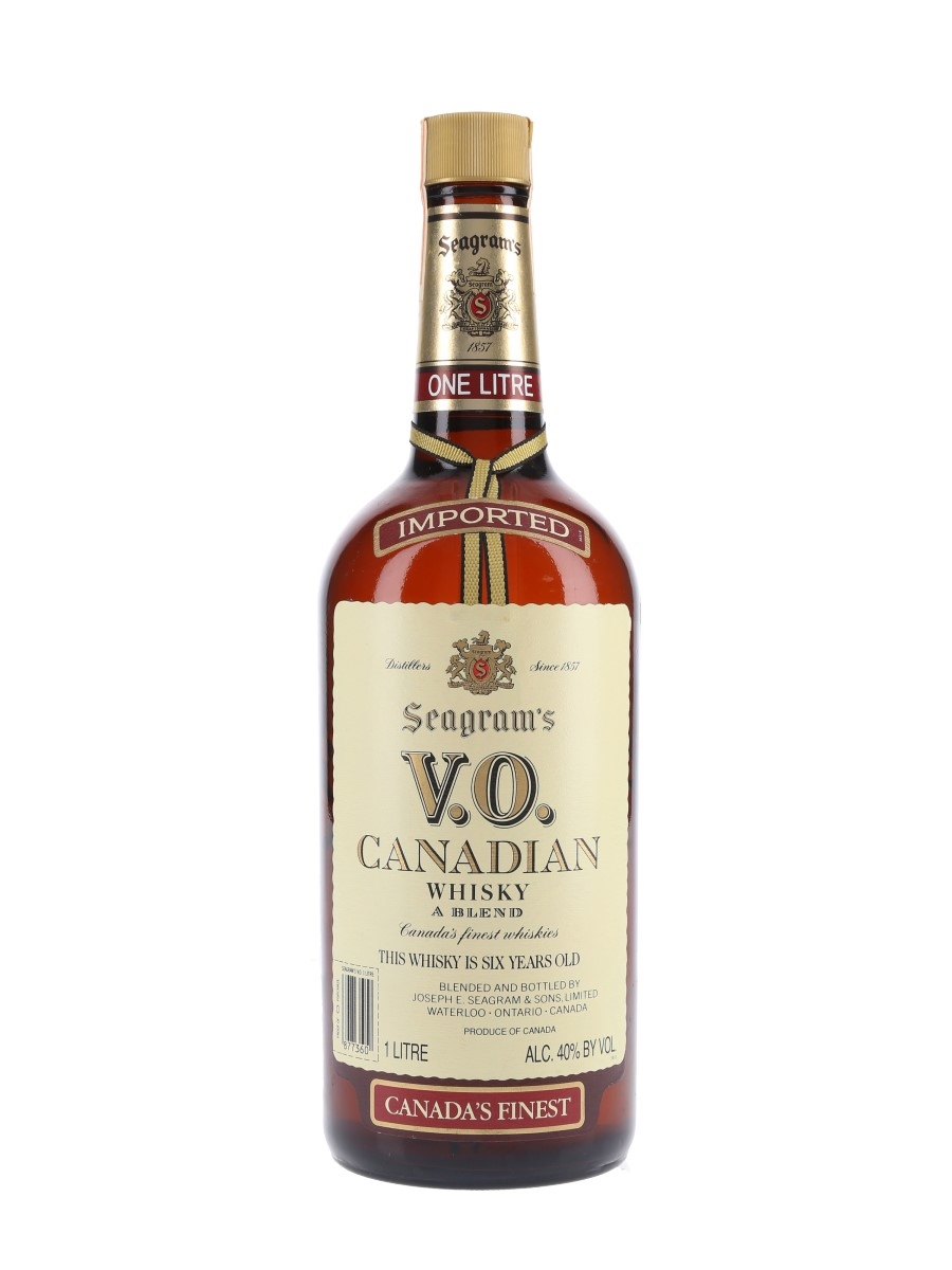 Seagram's VO 6 Year Old 1985  100cl / 43.4%