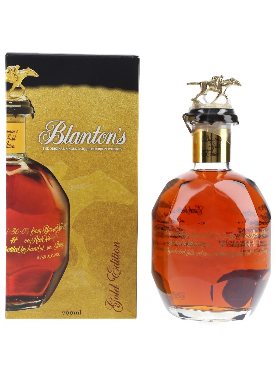 Blanton's Gold Edition Barrel No. 483 Bottled 2020 70cl / 51.5%