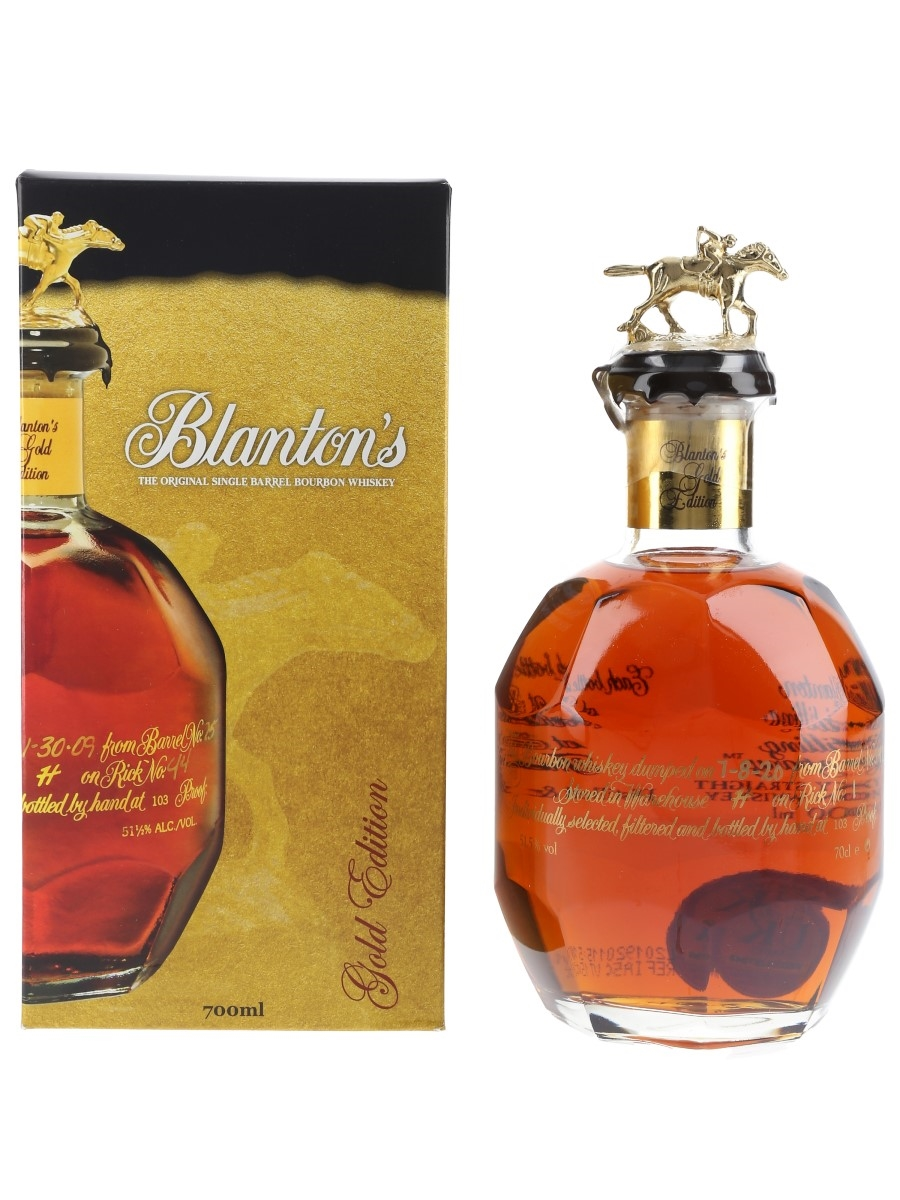 Blanton's Gold Edition Barrel No. 542 Bottled 2020 70cl / 51.5%