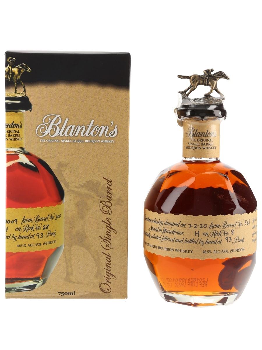 Blanton's Original Single Barrel No.561 Bottled 2020 70cl / 46.5%