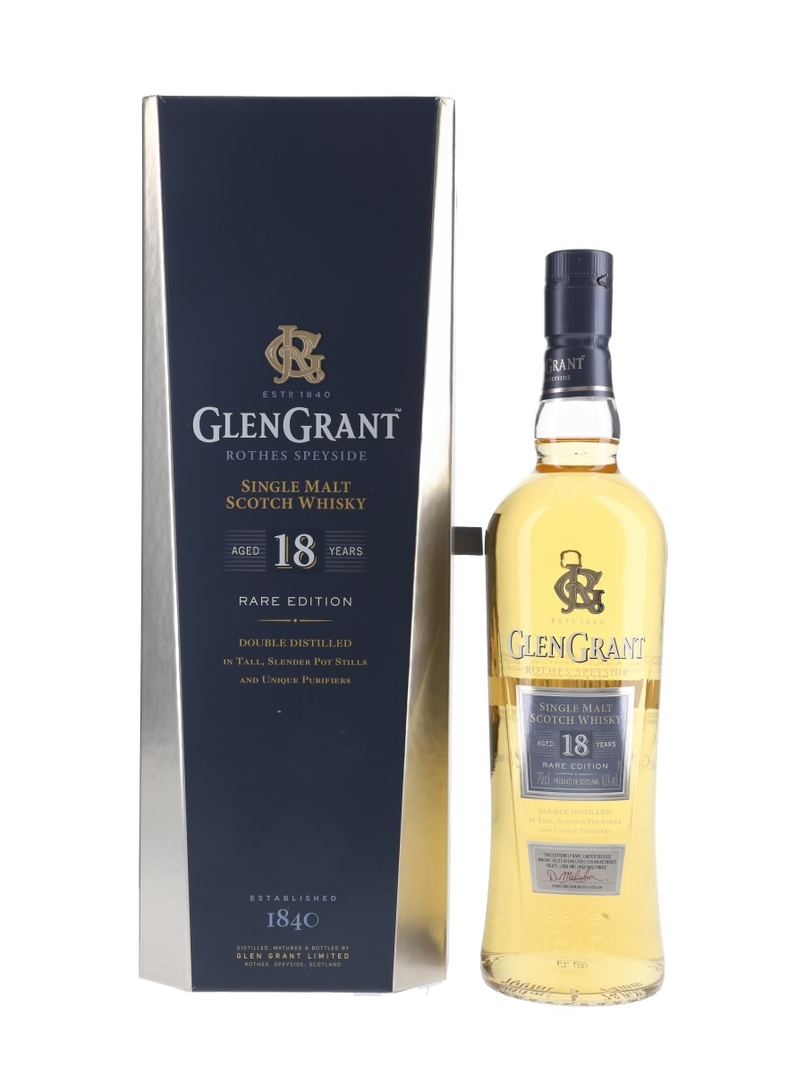 Glen Grant 18 Year Old Rare Edition  70cl / 43%