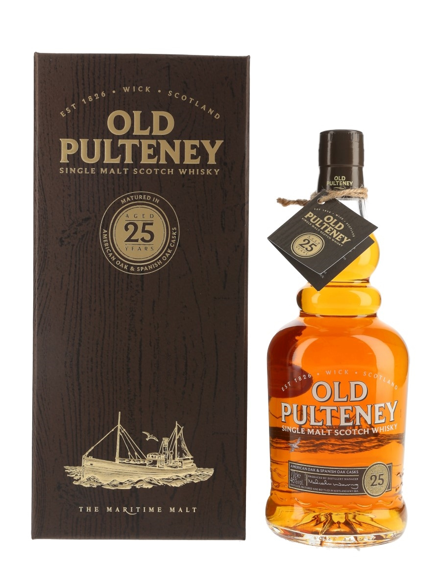 Old Pulteney 25 Year Old  70cl / 46%