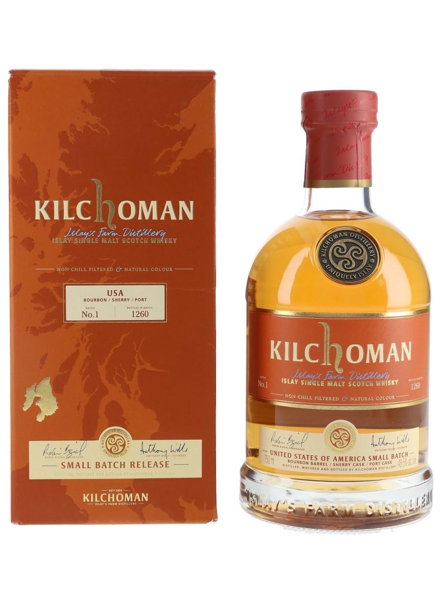 Kilchoman USA Small Batch No. 1 Bottled 2019 75cl / 48.5%
