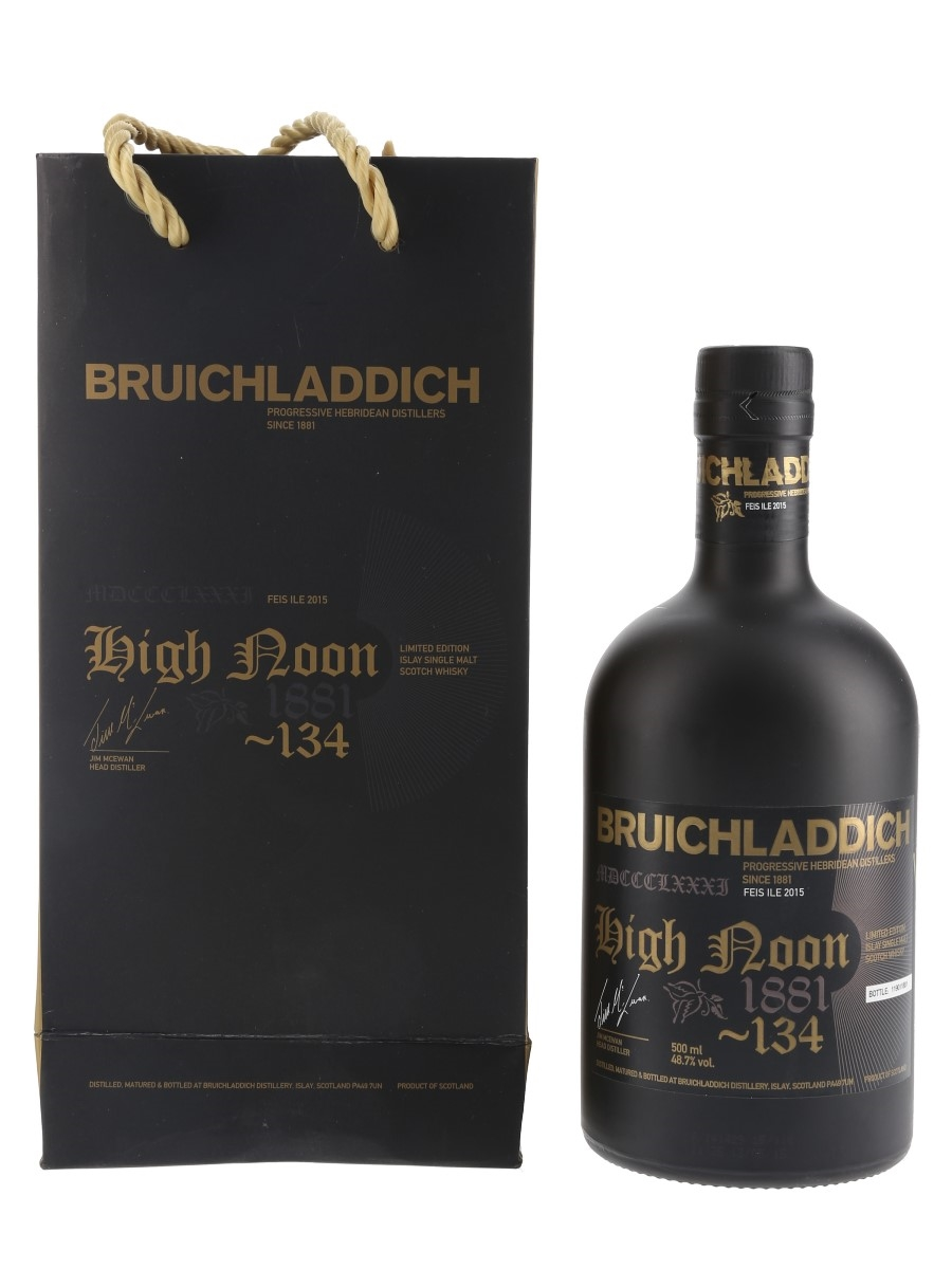 Bruichladdich High Noon Feis Ile 2015 - Signed Bottle 50cl / 48.7%