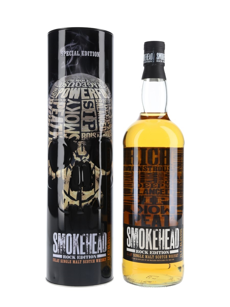 Smokehead Rock Edition Bottled 2014 - Ian Macleod Distillers Ltd. 100cl / 44.2%