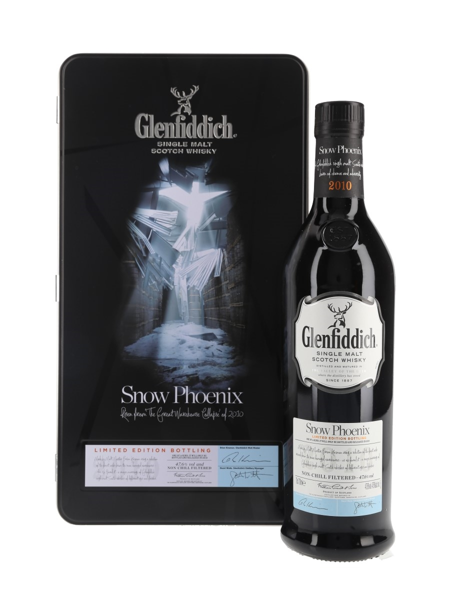 Glenfiddich Snow Phoenix Bottled 2010 70cl / 47.6%