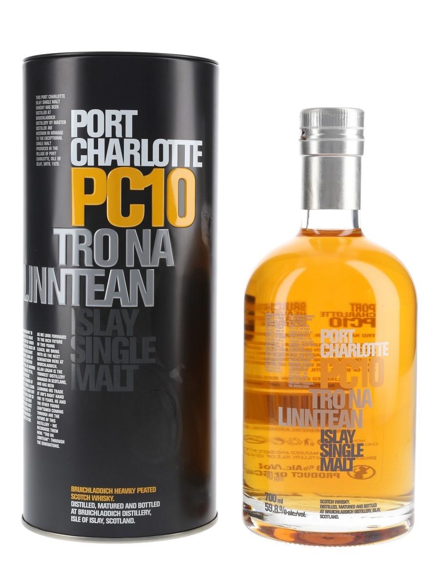 Port Charlotte PC10 Tro Na Linntean 70cl / 59.8%