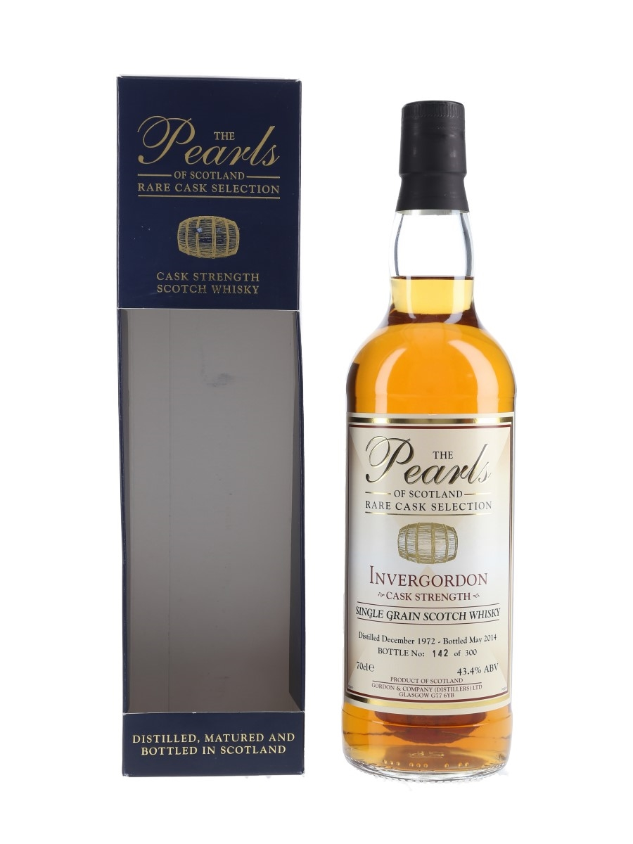 Invergordon 1972 Bottled 2014 - The Pearls Of Scotland 70cl / 43.4%