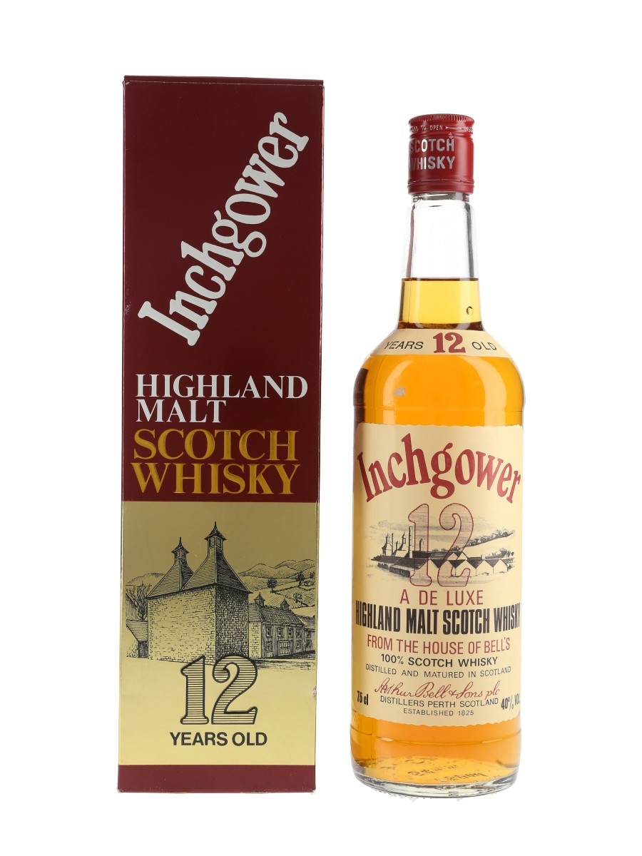 Inchgower 12 Year Old Bottled 1980s 75cl / 40%