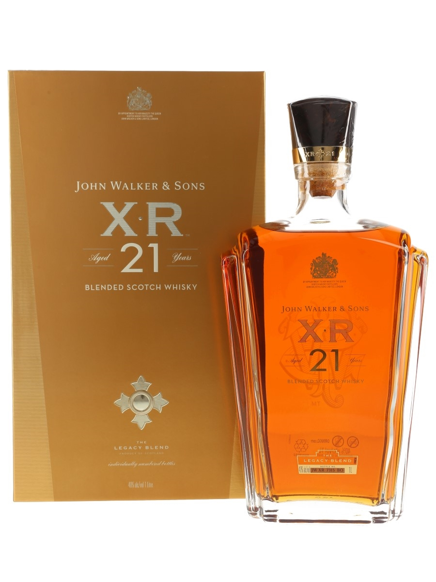 Johnnie Walker XR 21 Year Old The Legacy Blend 100cl / 40%