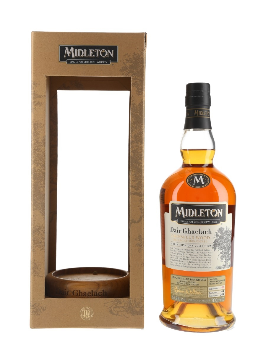 Midleton Dair Ghaelach Tree Number 04 Batch Number 01 70cl / 57.9%