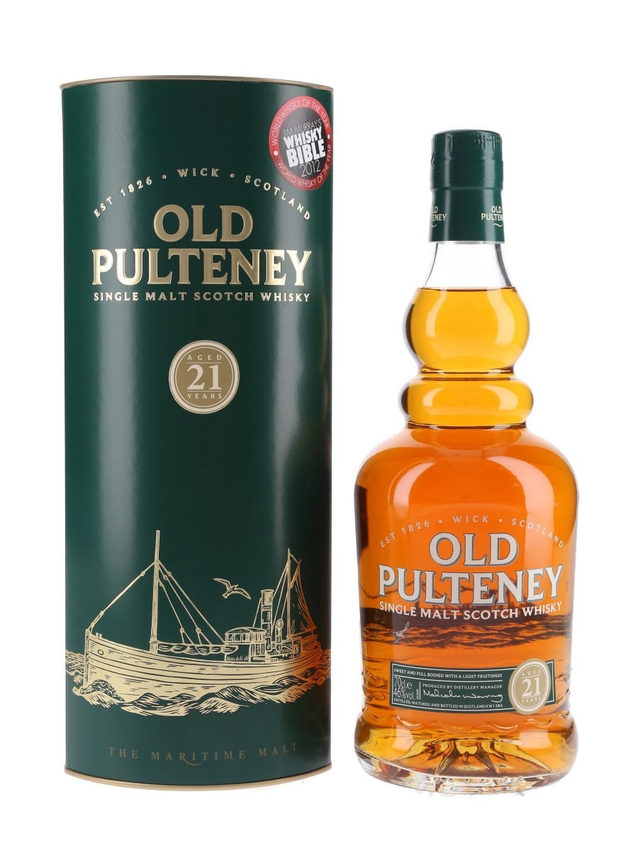 Old Pulteney 21 Year Old  70cl / 46%