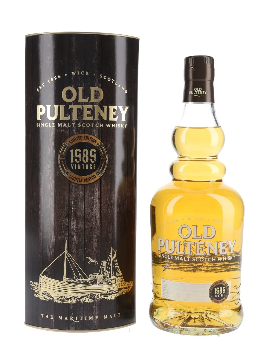 Old Pulteney 1989 Lightly Peated Bottled 2015 70cl / 46%