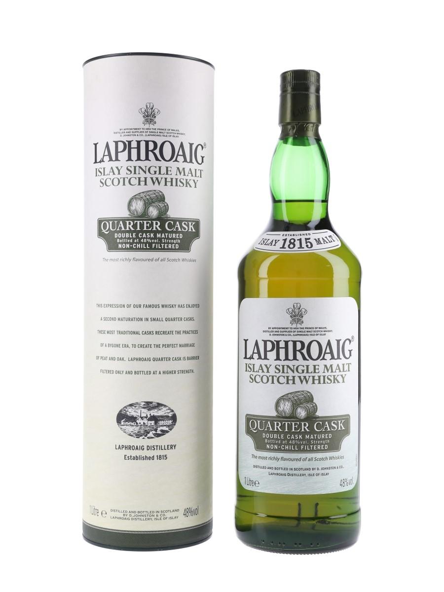 Laphroaig Quarter Cask Old Presentation 100cl / 48%